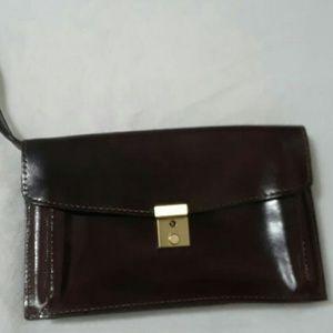 100% Genuine Leather Vintage Wristlet.